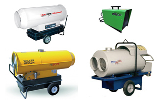 Heater Rentals in Regina SK, Pilot Butte, Moose Jaw, White City, Lumsden