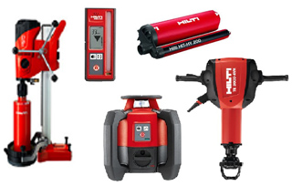Hilti Sales in Regina SK, Pilot Butte, Moose Jaw, White City, Lumsden