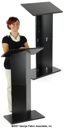 Where to find PODIUM, BLACK W  MIC in Regina