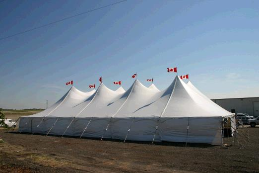 Where to find TENT, 60  X 100 POLE 6000SQ.FT. in Regina