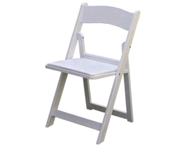 Where to find CHAIRS, FOLDING CUSHION  WHITE in Regina